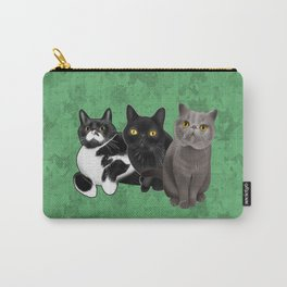 Poohkie, Mer, and Bart Carry-All Pouch
