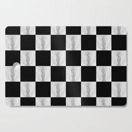 Checkerboard Pussy Cutting Board