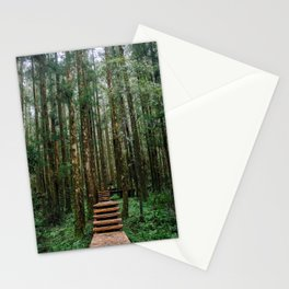 Ming Chi Forest Stationery Cards