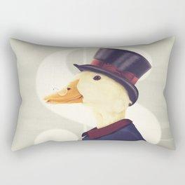 Justice Ducks - The Zillionaire Rectangular Pillow