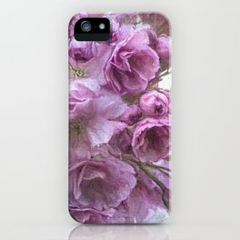 Painterly blossom iPhone Case