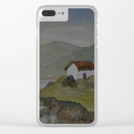 Cottages by the Sea WC160607o-15 Clear iPhone Case
