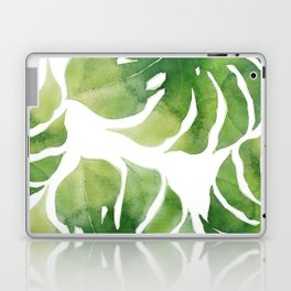 Monstera watercolor I Laptop & iPad Skin
