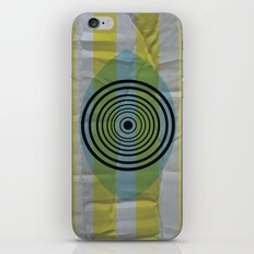 Auge gebumst iPhone & iPod Skin