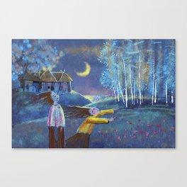 PURE HILL Canvas Print