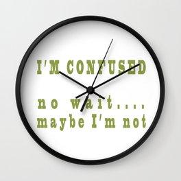 Ditsy Wall Clock