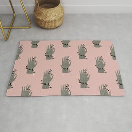 The Palmistry Hand Rug