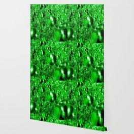 Green Ornaments Wallpaper