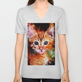cat years wsstd Unisex V-Neck