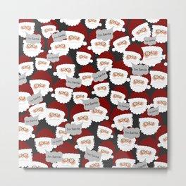 Who's the Real Santa? Metal Print