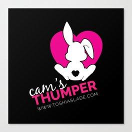 Cam's Thumper [Dark] Canvas Print