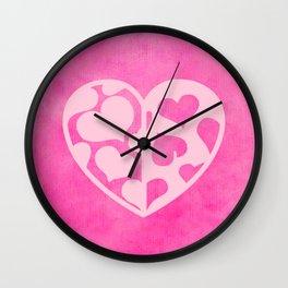 Heart_2015_0419 Wall Clock