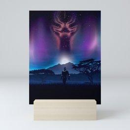 Black Panther Heaven Mini Art Print