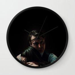 Hannibal Lecter and Abigail Hobbs Wall Clock