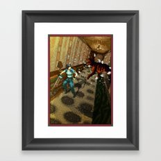 Pixel Art series 10 : Dogs Framed Art Print