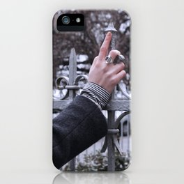 here the eye iPhone Case