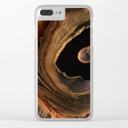 Tiger's Eye Canyon Clear iPhone Case