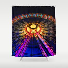 SPRING FESTIVAL Shower Curtain