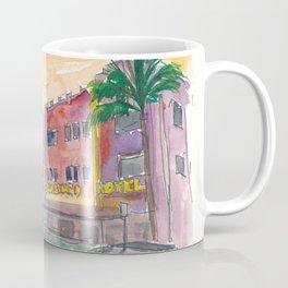 Miami Beach Ocean Drive Art Deco District Coffee Mug