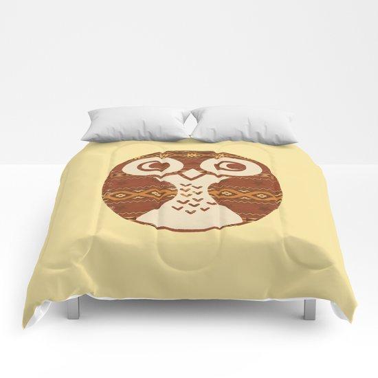 Navajo Owl  Comforters