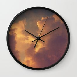 After the Storm (Pink Version) Wall Clock