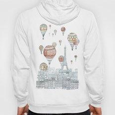 Voyages Over Paris Hoody