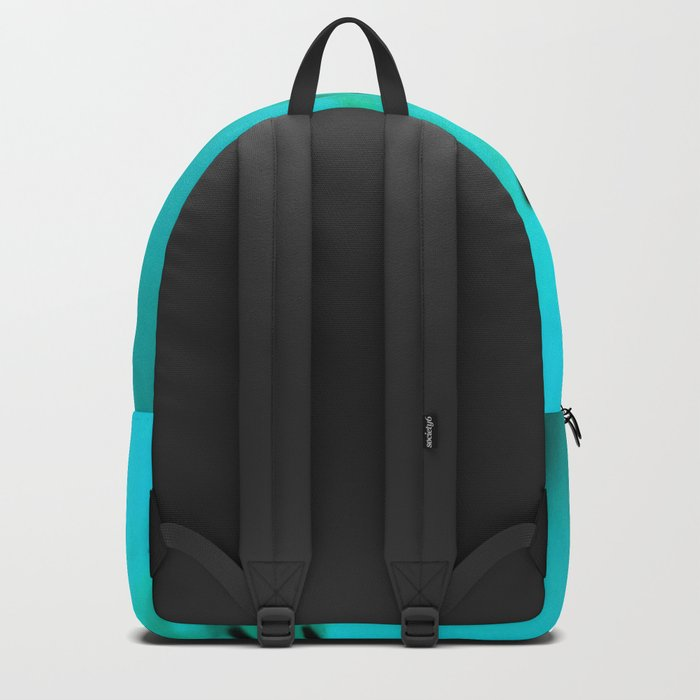 Lily in Blue Backpack