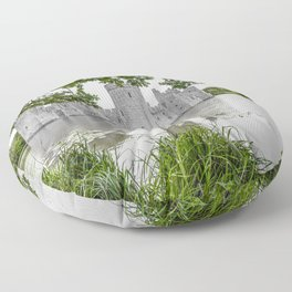 Through the Greenery. Floor Pillow