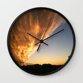The Face in the Clouds  Wall Clock