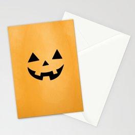Happy Jack-O-Lantern Stationery Cards