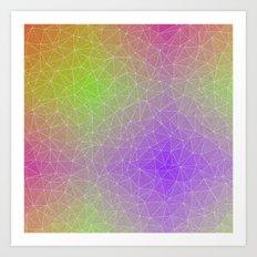 Triangular Horizon Art Print