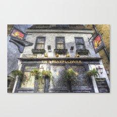 The Mayflower Pub London Art Canvas Print
