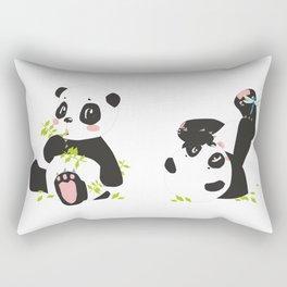 panda #society6 #decor #buyart Rectangular Pillow
