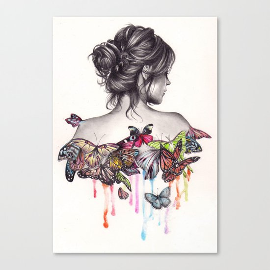 Butterfly Effect Canvas Print