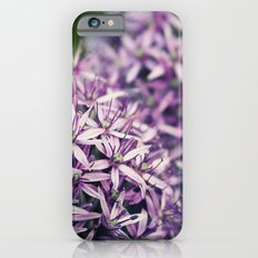 Vintage Purple Poppies  iPhone 6s Slim Case