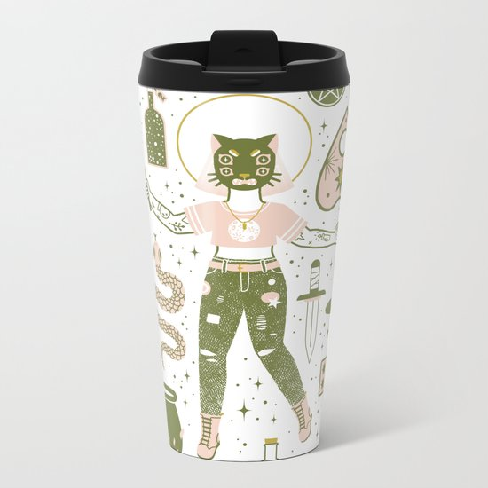 The Witch Metal Travel Mug