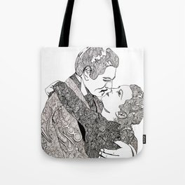 Gone With The Wind Elaboration Tote Bag