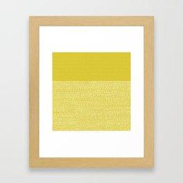 Riverside(Yellow) Framed Art Print