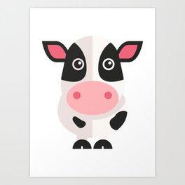 BIG Cow Art Print