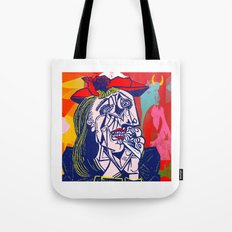 Weeping Woman #3 Tote Bag