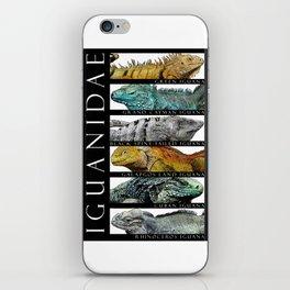 Iguanas of the World iPhone Skin