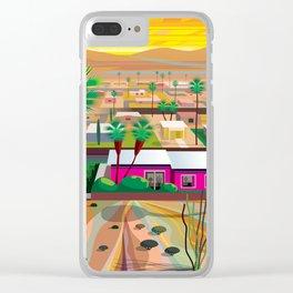 Twentynine Palms Clear iPhone Case
