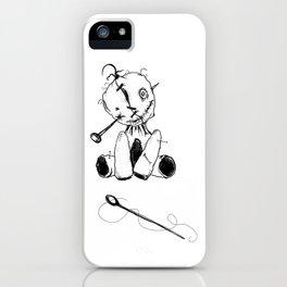 Floppy Voodoo Doll iPhone Case