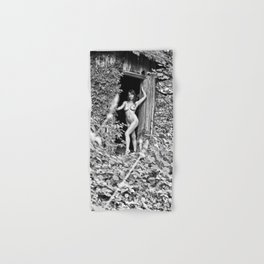 Nude Art Photogrphy by Mary Bassett Hand & Bath Towel