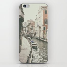 Venice canal, Italy iPhone Skin