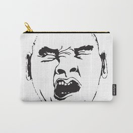 YAWNING MAN Carry-All Pouch