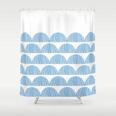 Little clouds Shower Curtain