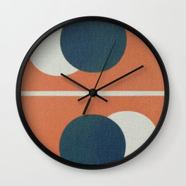 Frederick Hammersley 2 Wall Clock