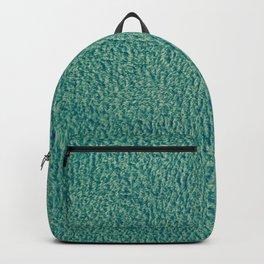 Green Fuzz Backpack
