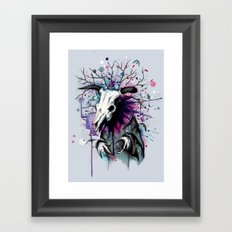 From Nature We Must Stray Framed Art Print